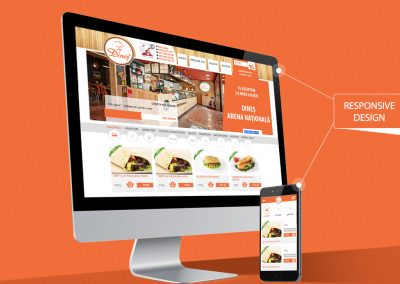 Dines Food – website design