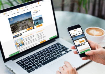 Dal Travel – Travel agency website